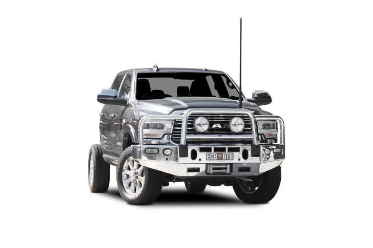 Winch Compatible Big Tube Bar®with Bumper Lights (code: BDO101SY)