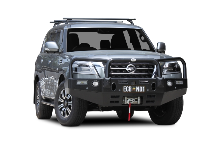 Big Tube Bar® Winch Compatible with Bumper Lights (code: EAN72SY)