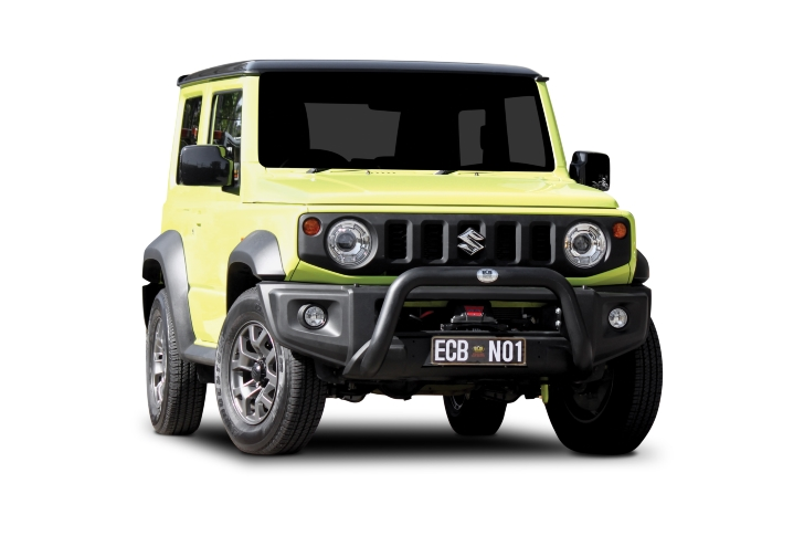 Winch Compatible 76mm Nudge Bar (code: NBWSZ101SY)